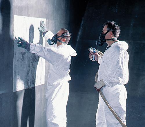 Duroplastic coatings